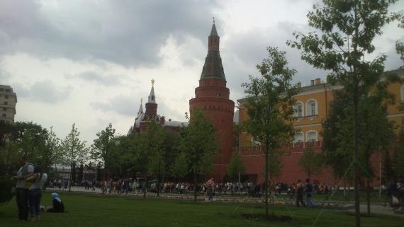 Александровский сад, отдых