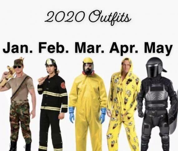 календарь одежды