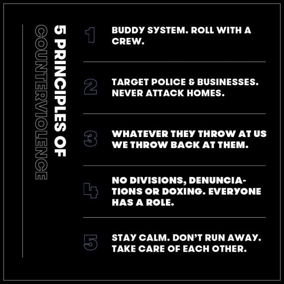 5 пунктов правил общения самих протестующих