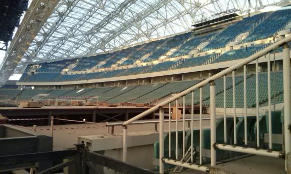 Трибуны стадиона Фишт примут 40 000 зрителей